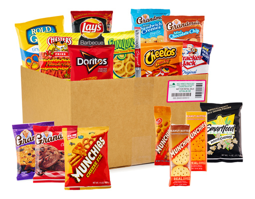 Frito Lay Ultimate Snack Mix 40 Ct Variety Pack Boxed