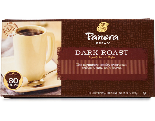 Panera Bread Coffee Box New Panera Bread Dark Roast Cups 60 Count Boxed