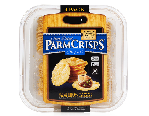 Kitchen Table Bakers Oven Baked Parm Crisps 4 X 3 Oz