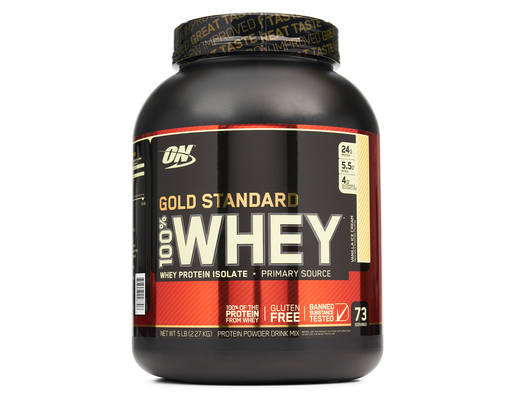 optimum nutrition gold standard 100  whey protein powder 5
