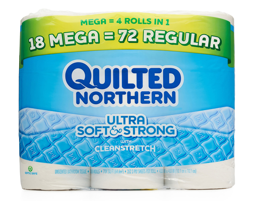 Quilted Northern Ultra Soft Amp Strong Bath Tissue 18 Count