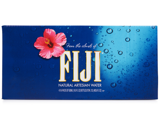 24 Ct. Fiji Artesian Water, 16.9oz (500ml) Bottles