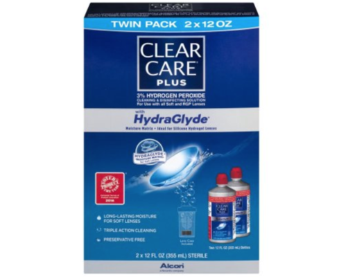 Clear Care Cleaning & Disinfecting Solution 35oz