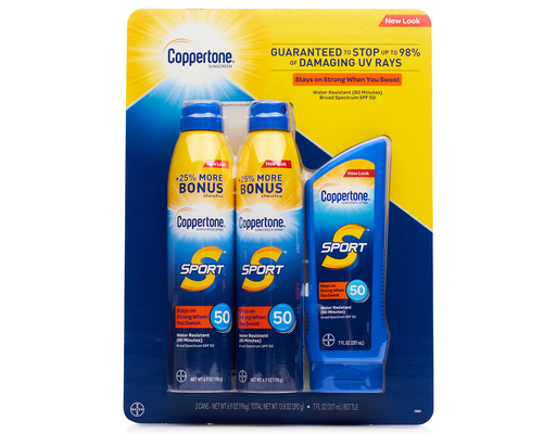 Coppertone Sport High Sunscreen Variety Pack