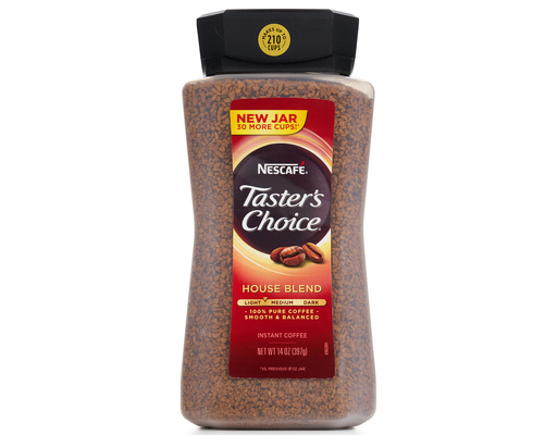 12oz Nescafe Tasters Choice, House Blend