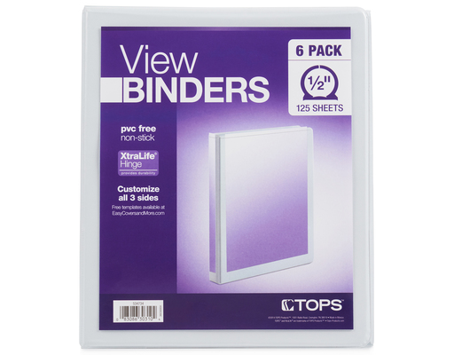 Tops View Binders