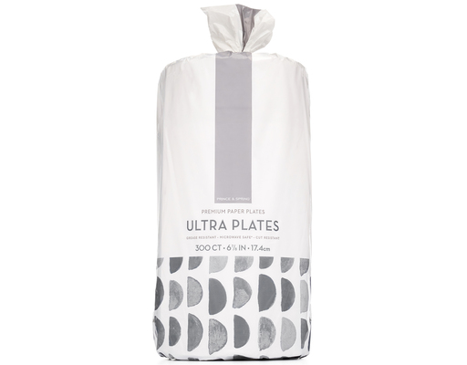 Ultra Plates, 300ct By Prince & Spring