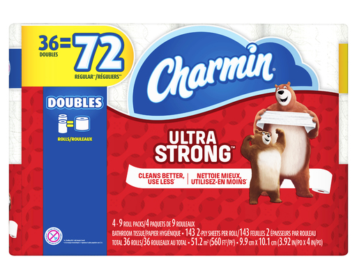 Charmin Ultra Strong, 36 Count