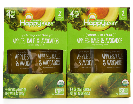 Happy Baby Clearly Crafted Organic Baby Food,