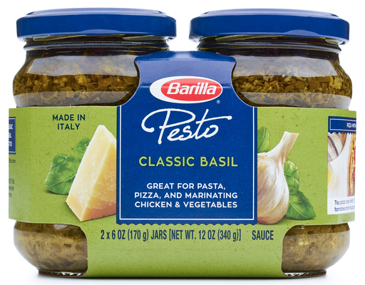 Barilla - Traditional Basil Pesto - 2 ct./6.3 oz. (Pack of 3)