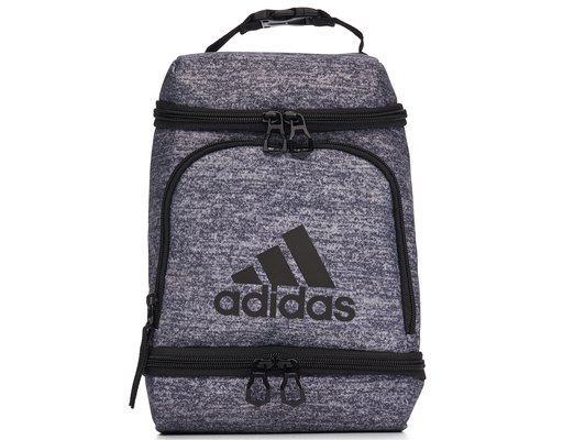 Adidas Excel Insulated Lunch Bag Grey Boxed
